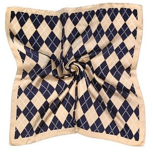 Argyle Star Print Fashion Scarf