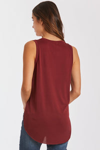 Esther V-Neck Pocket Tank