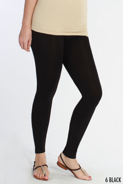Curvy Girl Ankle Length Leggings