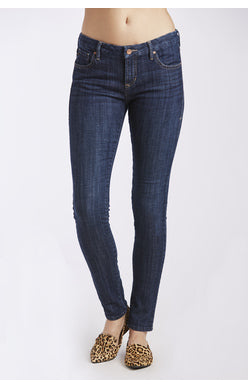 Gisele High Rise Skinny in Tavern