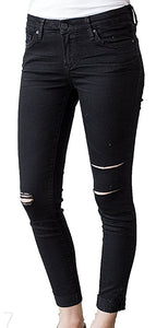 Joyrich Ankle Skinny in Carbon Black