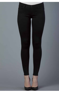 Metro Jeggings in Jet Black