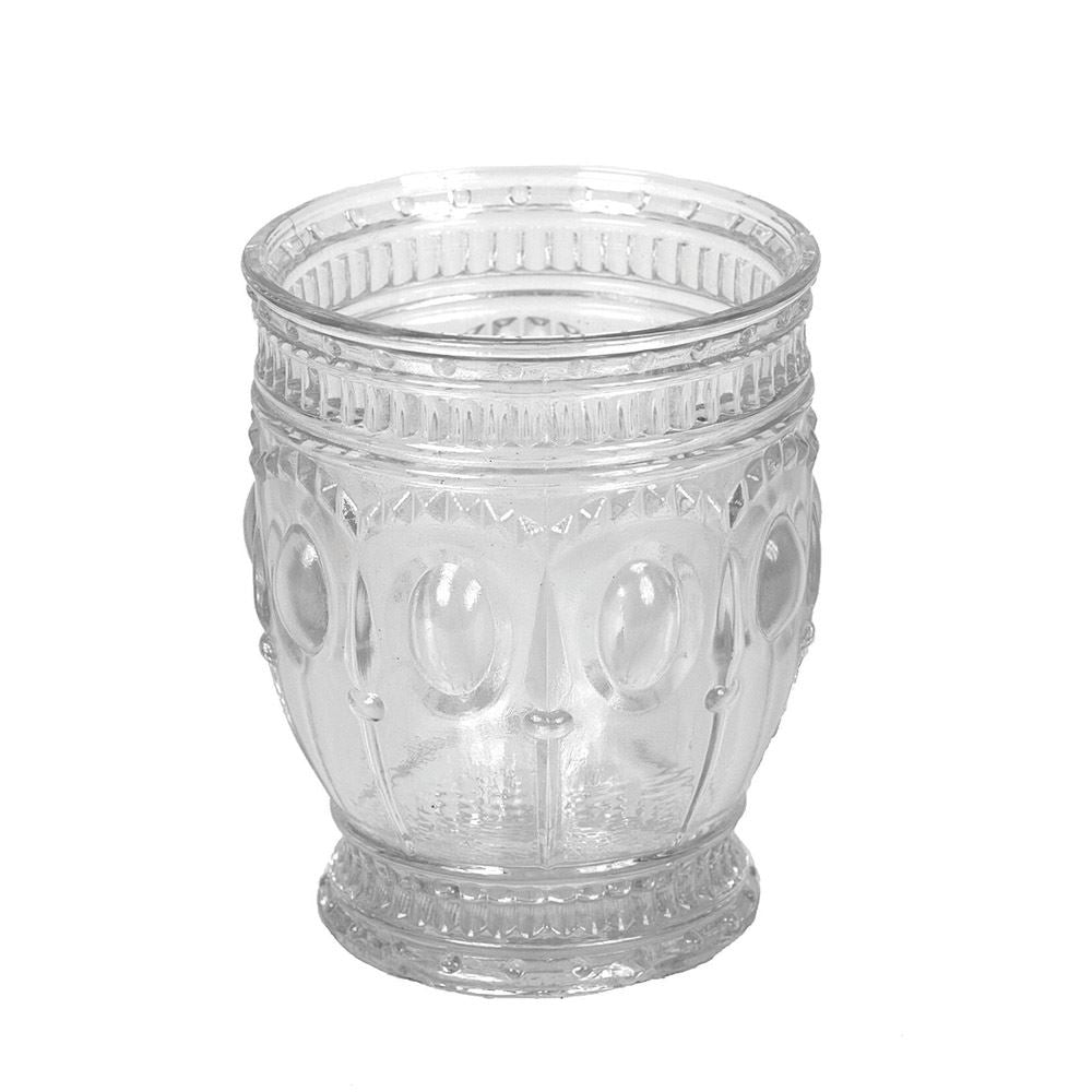 Embossed Drinking Glasses