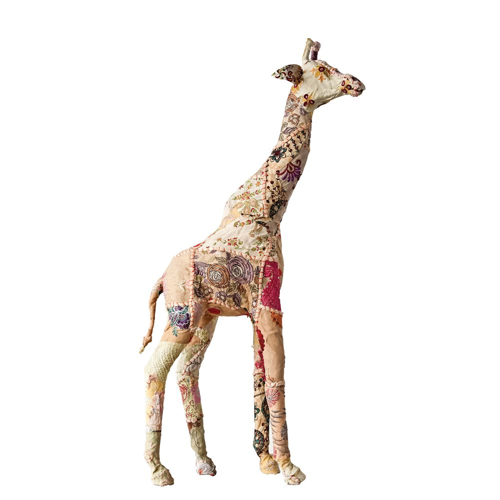 Fabric Covered Giraffe