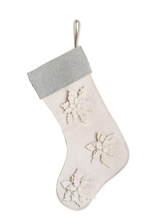Wool Felt Christmas Stocking
