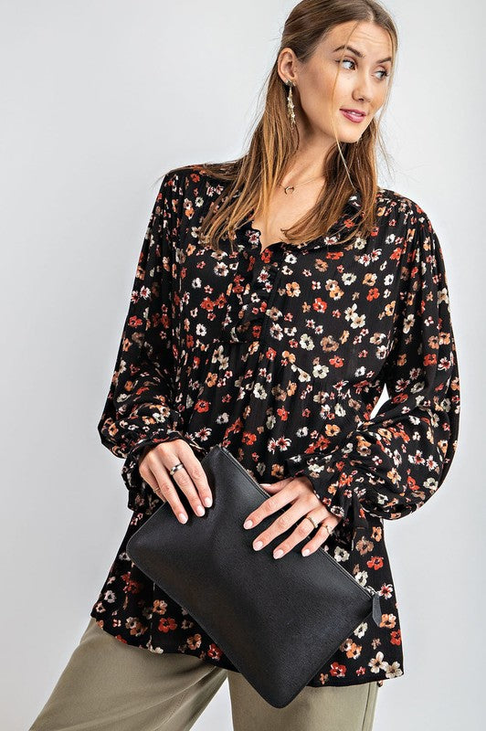 Floral Picnic Tunic