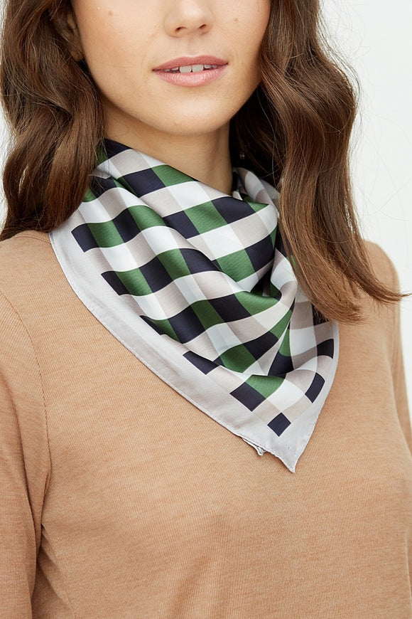 Plaid Fashion Scarf