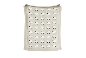 Cotton Knit Baby Blankets