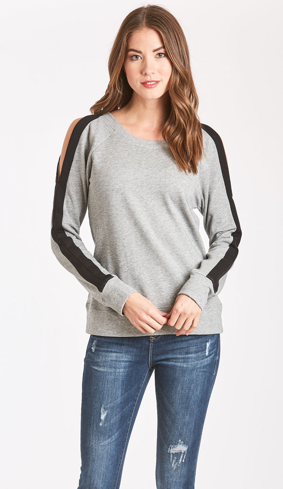 Helen Cold Shoulder Sweatshirt