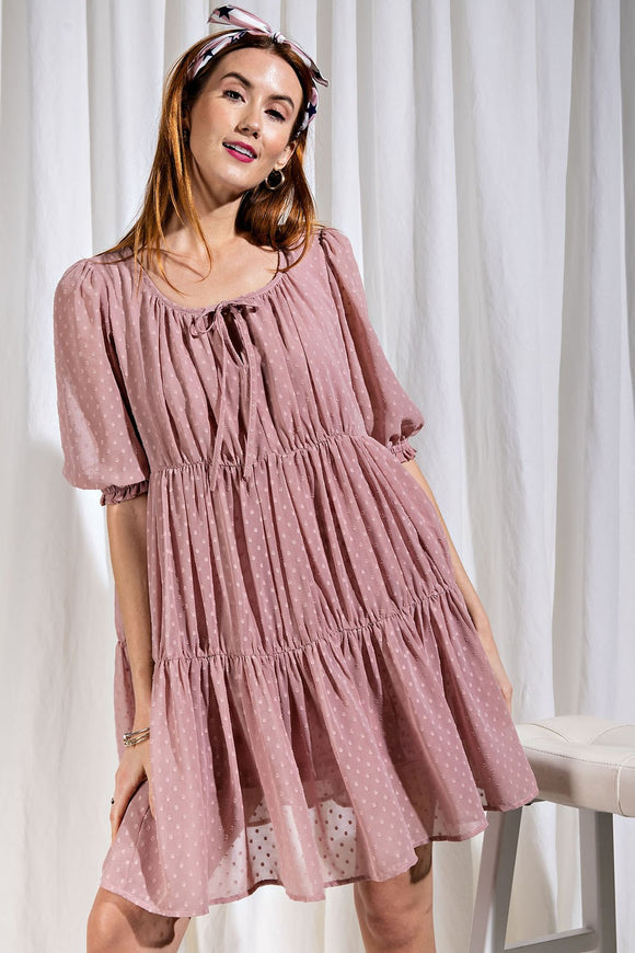 Forever with You Chiffon Dress