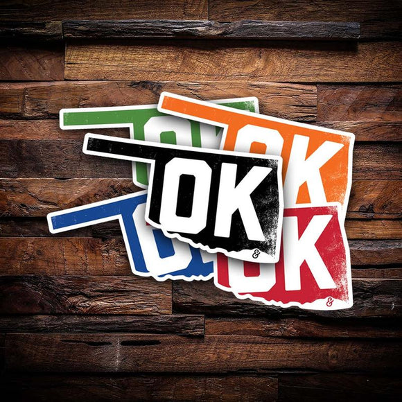 Oklahoma Stickers