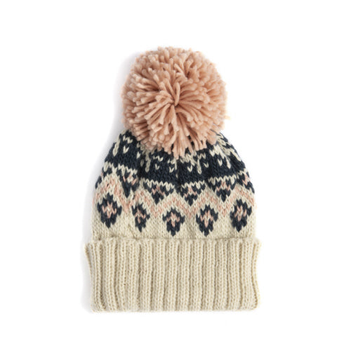 Winter Pom Pon Hat