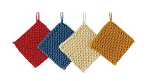 Cotton Crocheted Pot Holder