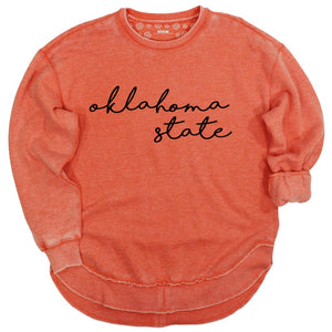 Oklahoma State Vintage Wash Pullover