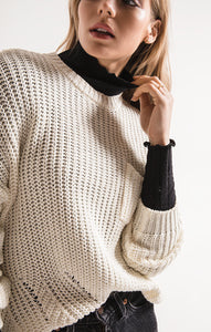 Willow Pullover Sweater w/ Pocket