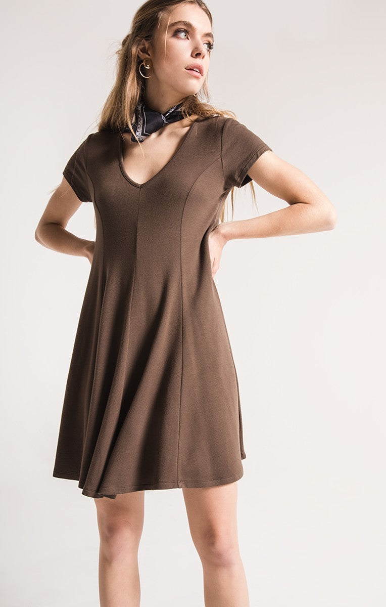 Sadie French Terry Dress