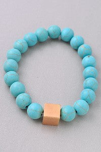 Stackable Stretch Bead Bracelet