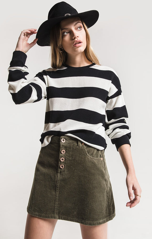 Sufford Corduroy Skirt