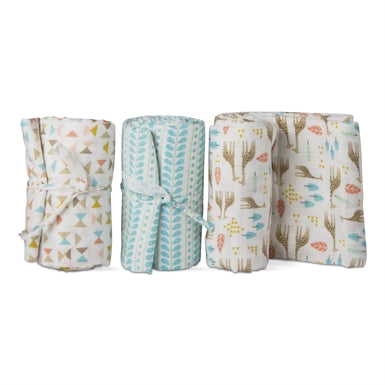 Savanna Swaddle Blanket