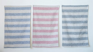 Cotton Tea Towels w/Stripes