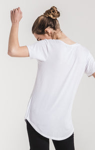 Z Supply V Neck Pocket Tee