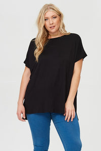 Staple Dolman Sleeve Plus Size Top