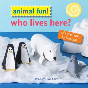 Animal Fun! Who lives here? Children's Book