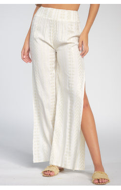 Tribal Side Slit Pant