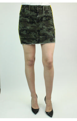 The Brie Camo Skirt