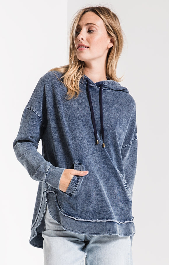 Knit Denim Dakota Pullover