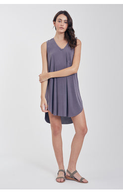 Dana Pocketed T-shirt Dress