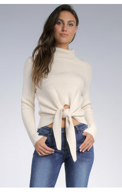 The Front Tie Sweater