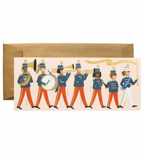 Marching Band Birthday Card