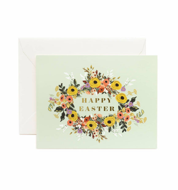 Easter Garden Greeting Card