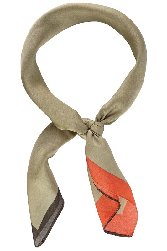 Solid And Lined Neckerchief