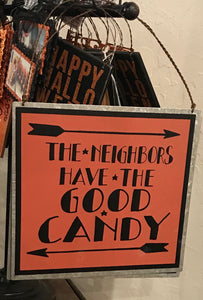 Good Candy Tin Sign