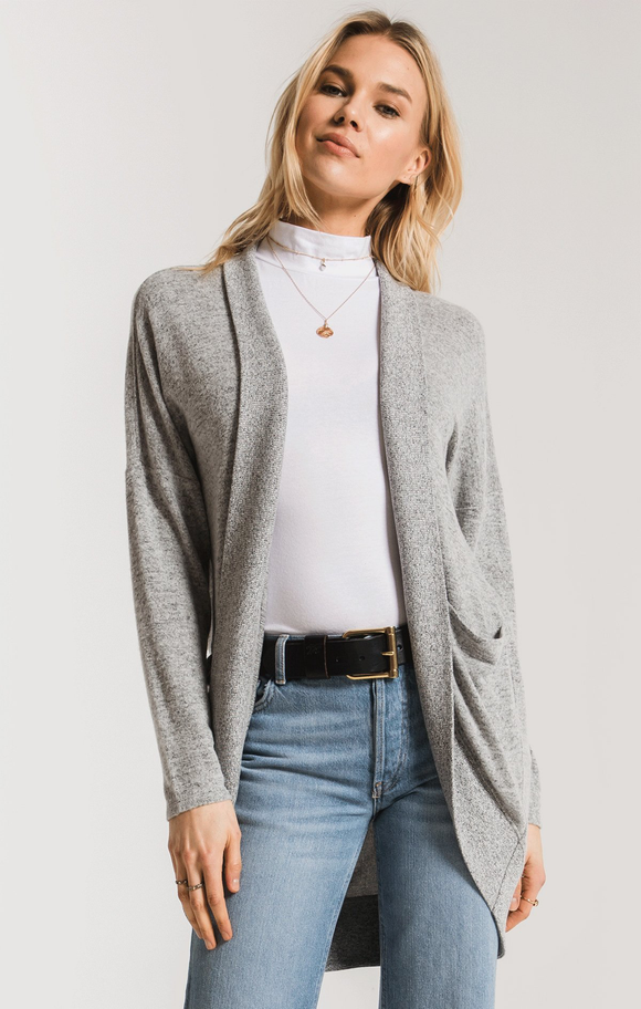 The Marled Knit Cocoon Cardigan