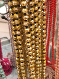 Long Strand Shiny Bead Necklaces