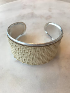 Wicker & Metal Cuff