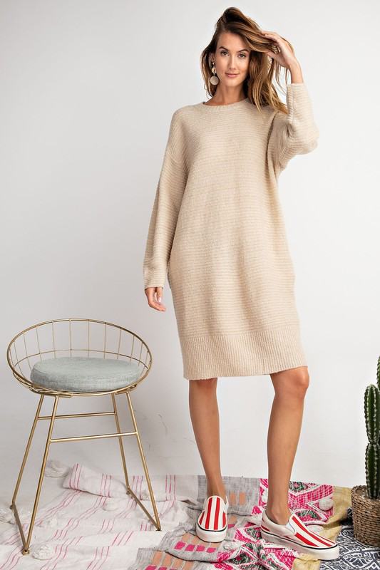 Talk All Night Sweater Dress