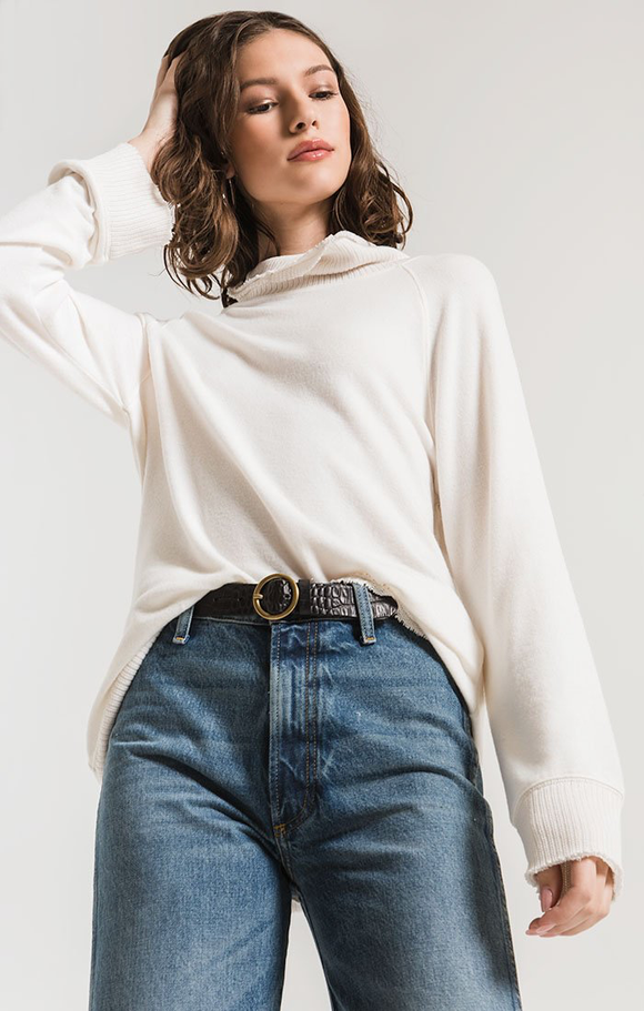 The Soft-Spun Pullover