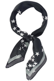 Stars and Lined Pattern Neckerchief