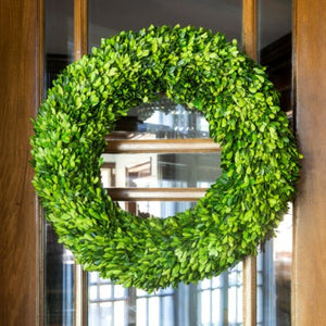 Large Preserved Boxwood Wreath