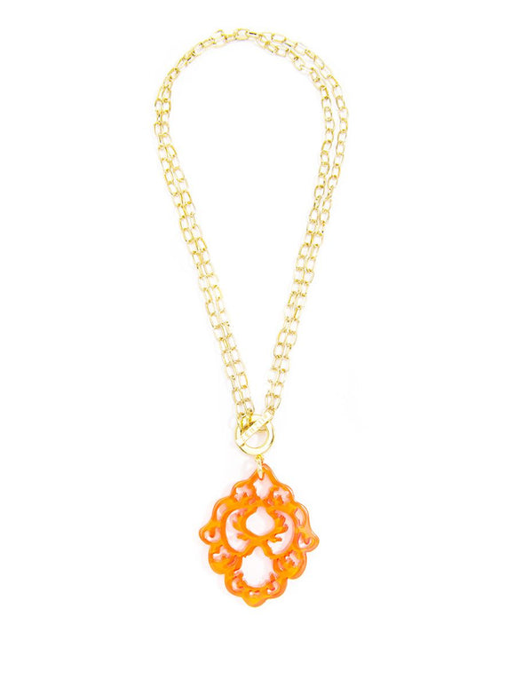Dare to Deco Pendant Necklace