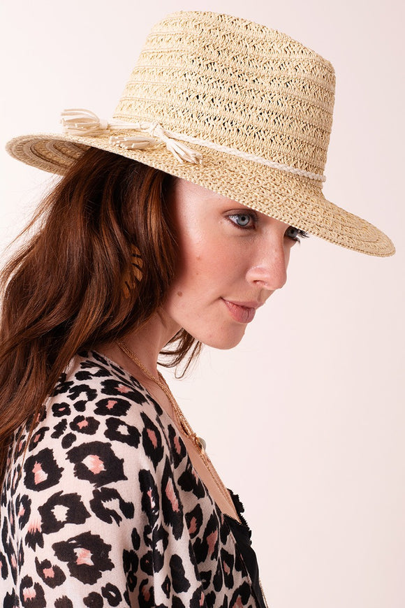 Braided Straw Panama Hat