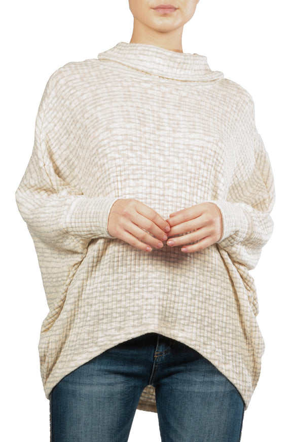 Slouchy Turtle Neck Sweater