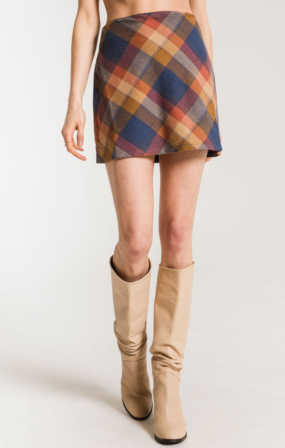Plaid Aleta Skirt