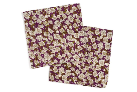 Bamboo Burp Cloths