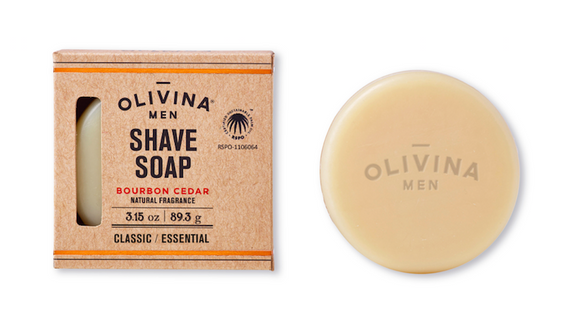Greige Man Shave Soap