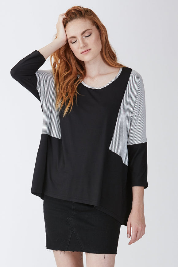 Hannah 3/4 Sleeve Tunic